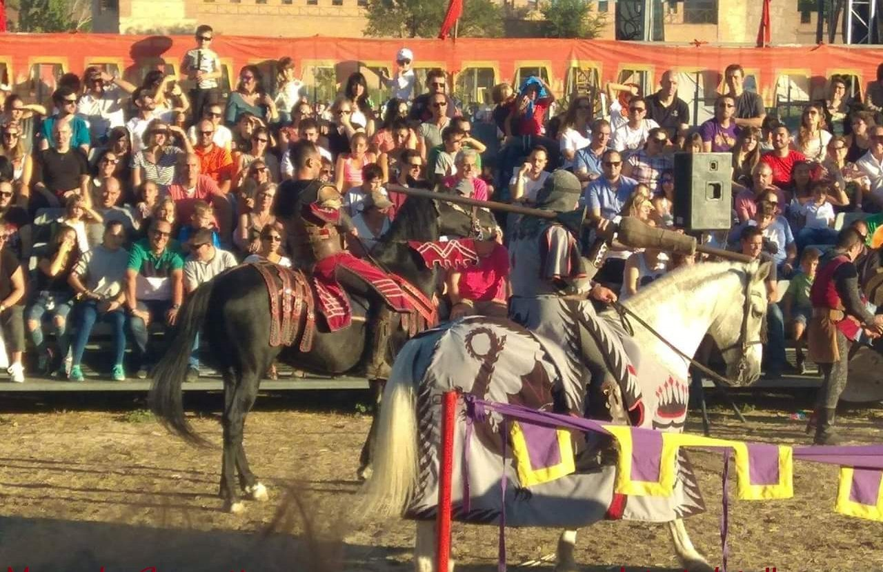 justas medievales torneo