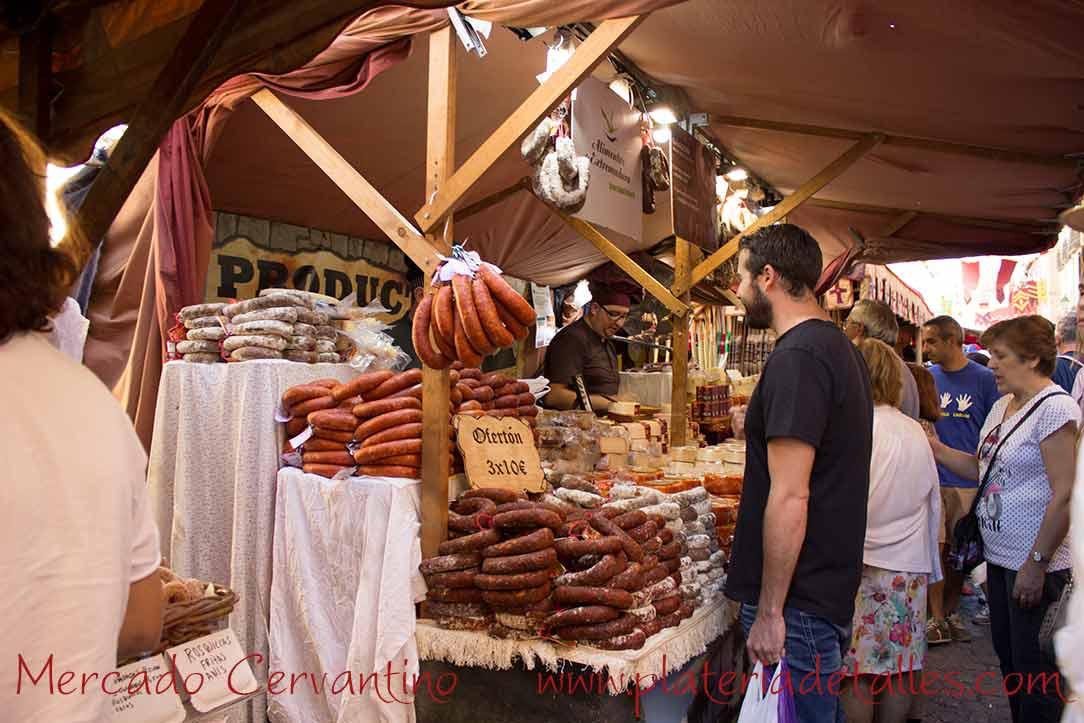 mercado cervantino comida